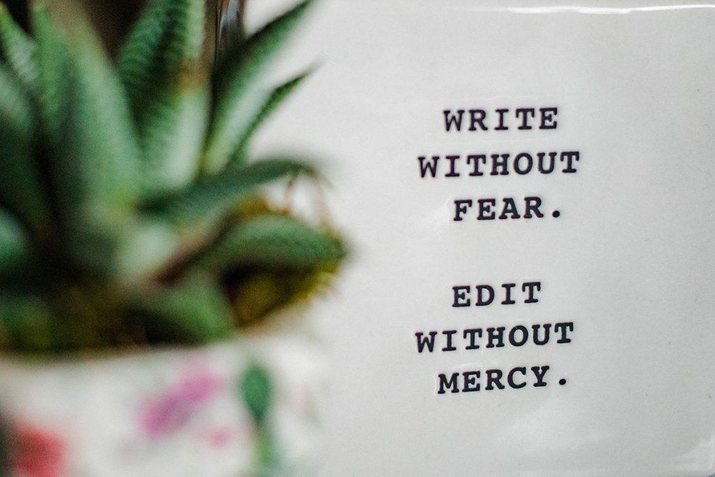 文筆不好也能寫作嗎?重點不是文筆,而是觀點。